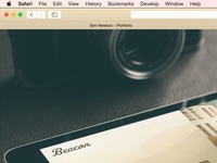 Coloured Chrome in Safari [how to] new ui website colour apple yosemite custom edit browser web safari chrome