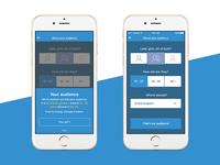 Unused selection screen gender age pick choose audience social phone app