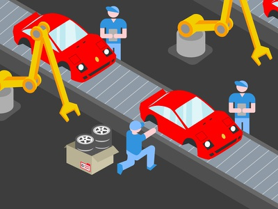Kanban automation industry 4.0 kanban