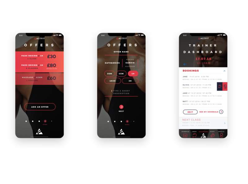 UX Design Sport App