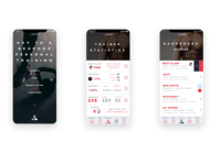 Sport App UX Design