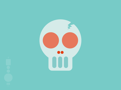 Dribbble Skull