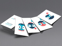 earlyfund branding business card