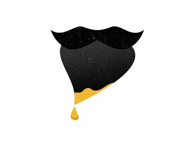 Logo for designer with a beard amsterdam logo beard