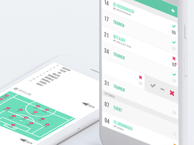 Be there/Be square attendance team ios app