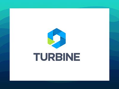 Turbine Product Logo illustration branding logo