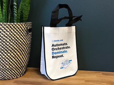 Swag Bag typography branding