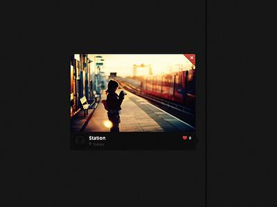 Snappped - Photo Delete Button Design delete snappped design button photo