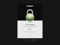 Snappped - New Password E-Mail Design