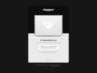 Snappped - New Message E-Mail Design