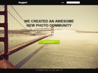 Snappped - Final Landing Page Design