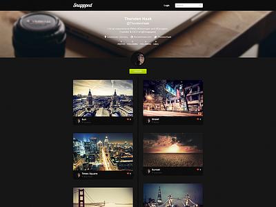 Snappped - Final Photography Portfolio Design final photography portfolio design snappped