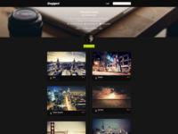Snappped - Final Photography Portfolio Design