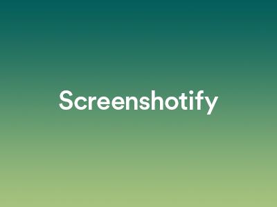 Screenshotify - Final Logo Design design logo final screenshotify