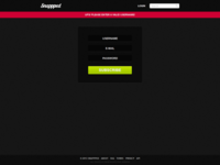 Snappped - Website Header Notification Design