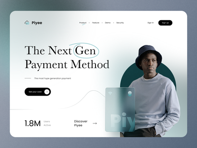 Payment - Header Website Design web design payment website fintech digital payment method pay wallet e-wallet website design header financial landing page investment payments webdesign bank finance ewallet payment website