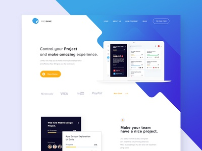 #Exploration Project Manager Landing Page