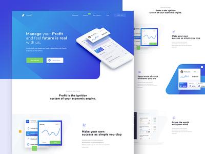 Profit Manager Landingpage
