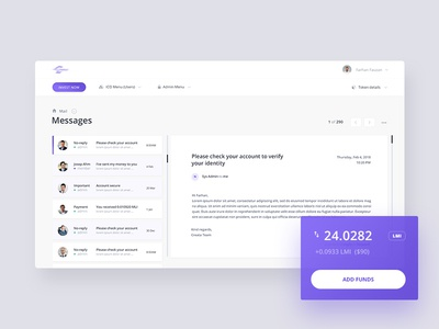 Dashboard Email 💌
