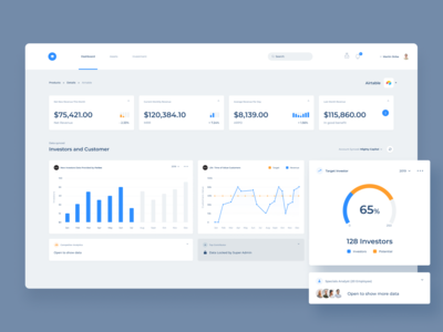 SaaS Dashboard Revenue