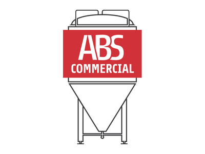 ABS Commercial logo commercial equipment brewing brand
