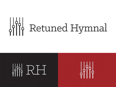 Retuned Hymnal Logo brand retuned music hymns logo