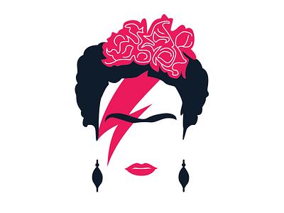 Frida Stardust ziggy stardust david bowie bowie fridakahlo frida