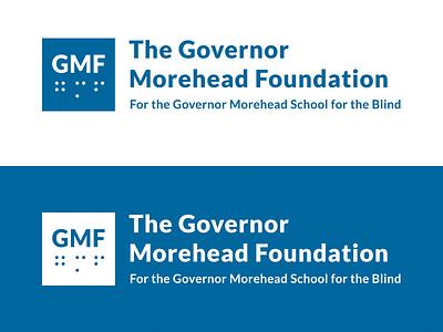 Governor Morehead Foundation pro bono braille school logo school raleigh nonprofit accessibility blind foundation logo