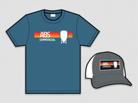 ABS Commercial T-Shirt & Trucker Hat