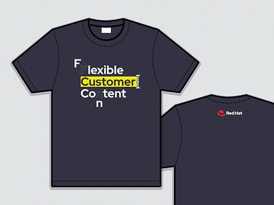 Flexible Customer Content swag design apparel shirt t-shirt