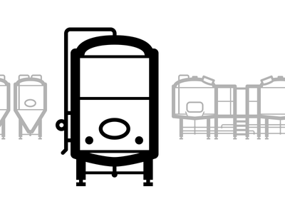 Brite Tank — Brewing Icons icons homebrew craft brewery craft beer brewing equipment brewing brewhouse brewery beer