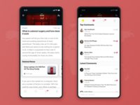 Newsfeed App Concept 3️⃣