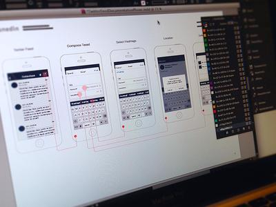 Wireframes ux ui wireframe documentation ai in illustrator indesign pdf userflow mockup