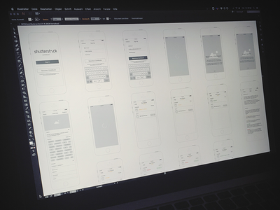 Wireframes Sign Up