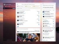 LinkedIn Mac App Concept