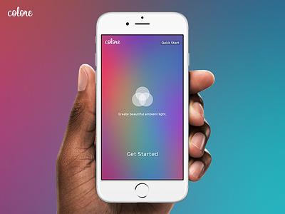 Launch screen | Colore xcode ui app ipad iphone ios