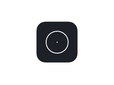 Minimal Stopwatch iOS App Icon minimal simple live stopwatch illustrator app icon ios icon app icon