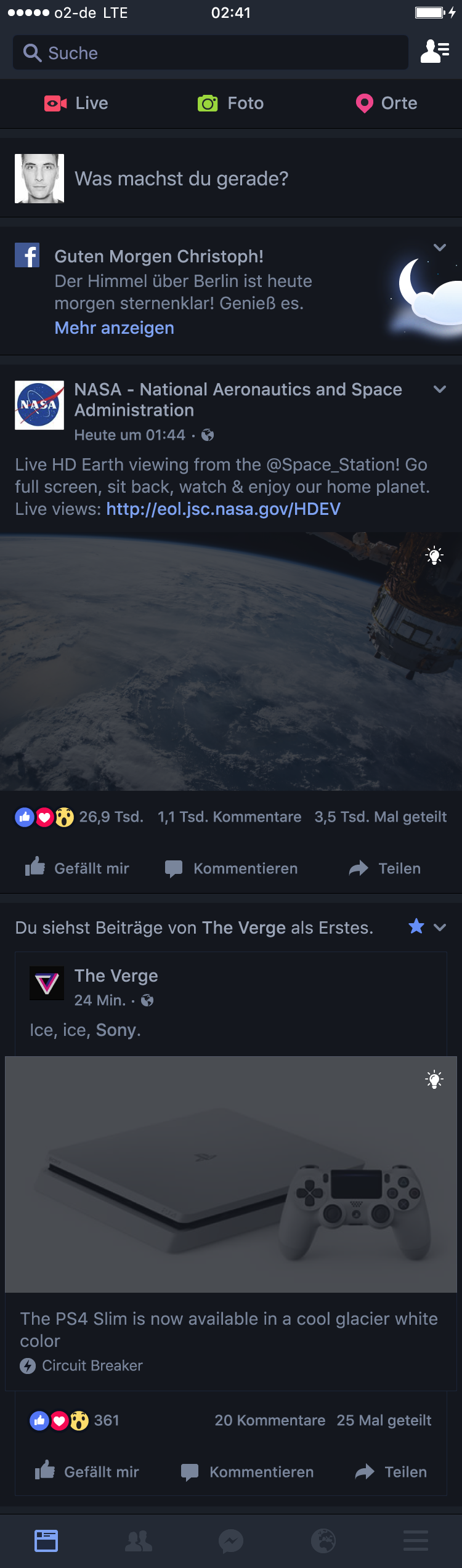 Facebooknightmode