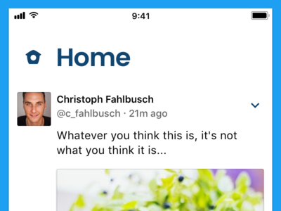 Twitter - Home