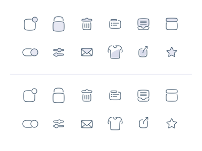 Icons icon set line icons illustrator sketch vector outline icons icon