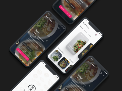 Kaiteki delivery app ui food ios store app store delivery
