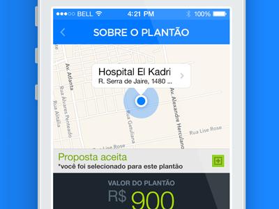 Pega Plantão iOS 7 pega plantão ios7 app