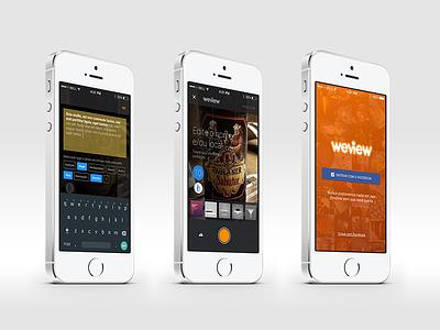 Weview iOS jera weview review orange ios app