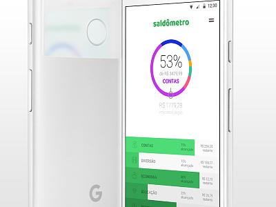 Saldômetro wallet saldo receipt money app android
