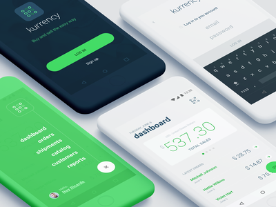 Kurrency money android app ecommerce