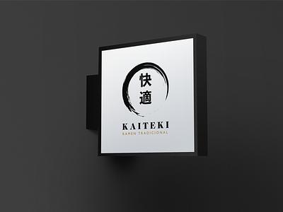 Kaiteki restaurant japanese logo