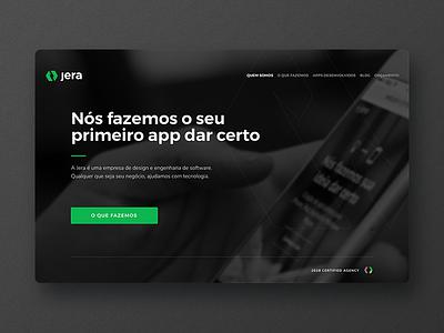 Jera desktop black green jera website