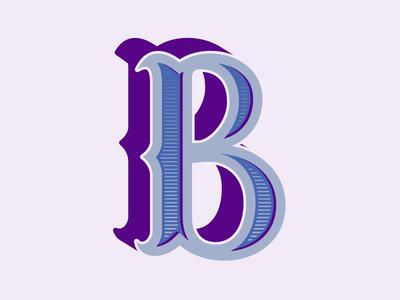 B Drop-cap