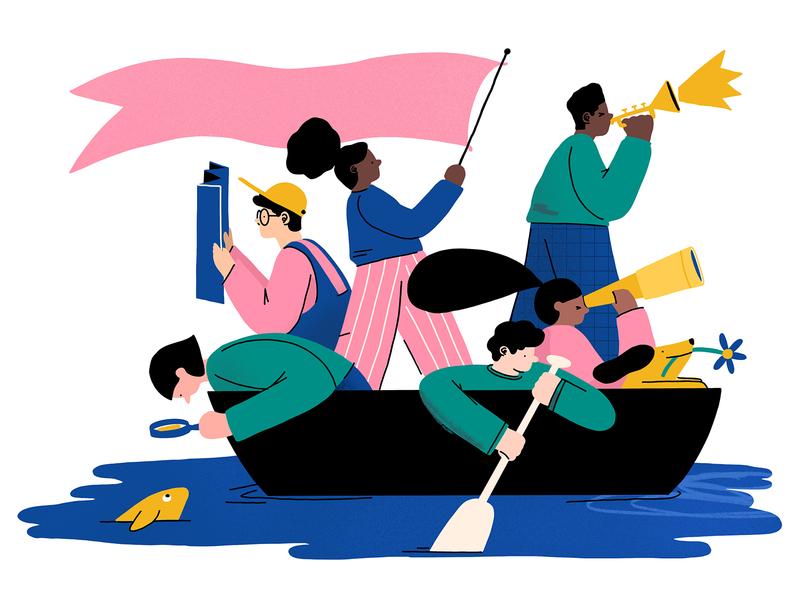 Boat Colouring Sheet art line digital activity coloring sheet design character design illustration