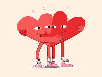 I Love Love! procreate app procreate art character digital procreate illustration
